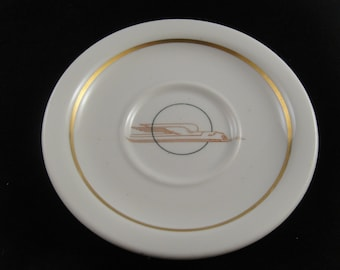Winged Streamliner Union Pacific Saucer Scammells Trenton China