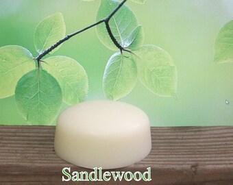 Sandalwood Organic Solid Lotion Bar Super Large 7 oz.