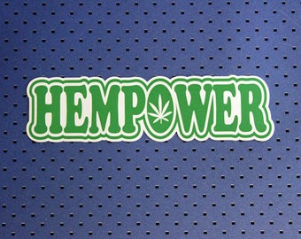 Hempower Bumper Sticker