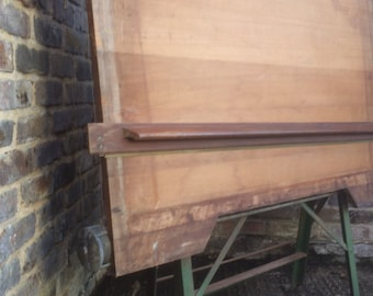 British Made Circa 1940/50's A0 Size Halbro Architects A Frame Draft/Drawing Board (Great Prop Display)