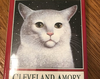 Vintage 1993 The Best Cat Ever by Cleveland Amory Hardcover Dust Jacket Cats Kitties Kitty Love