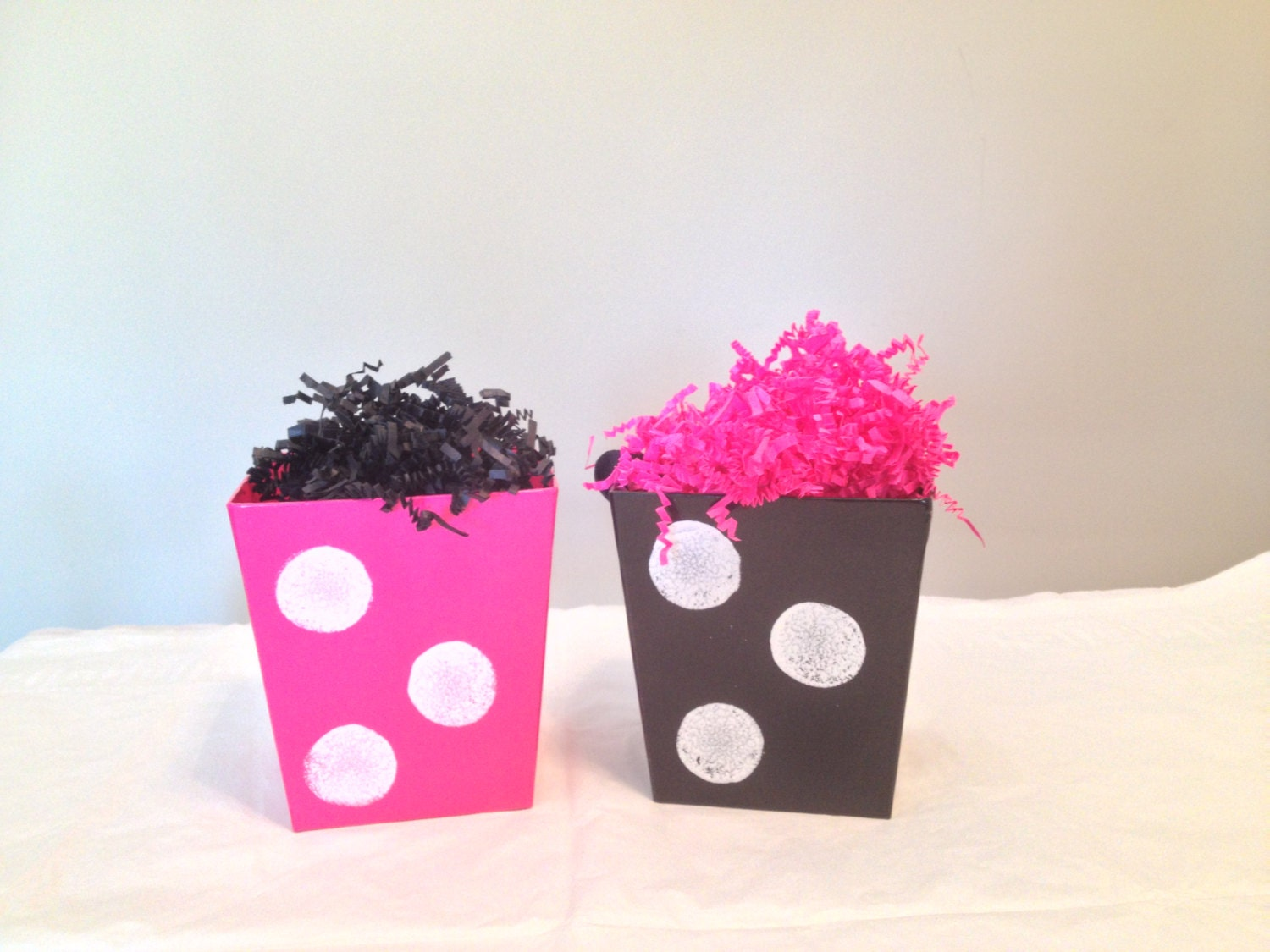 Minnie/Mickey Mouse Centerpiece Buckets/Minnie Mouse Party