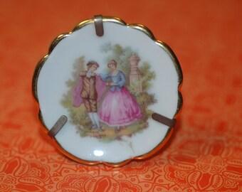 Limoges Miniature Plate