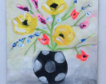 3yellow flowers