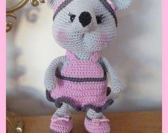 Mouse, Amigurumi crochet plush