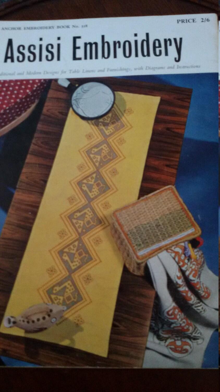 1950er Jahren Assisi Stickerei Anker Buch keine 518, Musterbuch ...