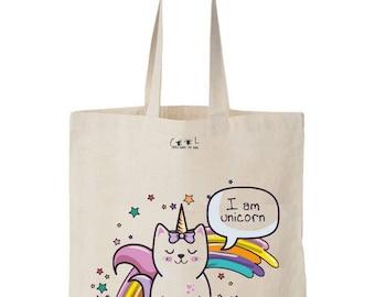 Tote bag Unicorn