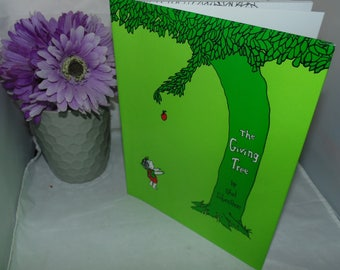 Vintage Shel Silverstein HCDJ The Giving Tree Hardcover 1992 Harper Collins