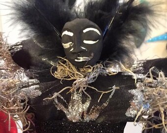 Ogoun Voodoo Veve Altar Doll - New Orleans Voodoo