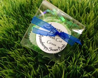 Aromatherapy Shower Bomb-- Fresh Cut Grass