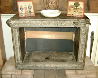 Fireplace marble sculpture 1030