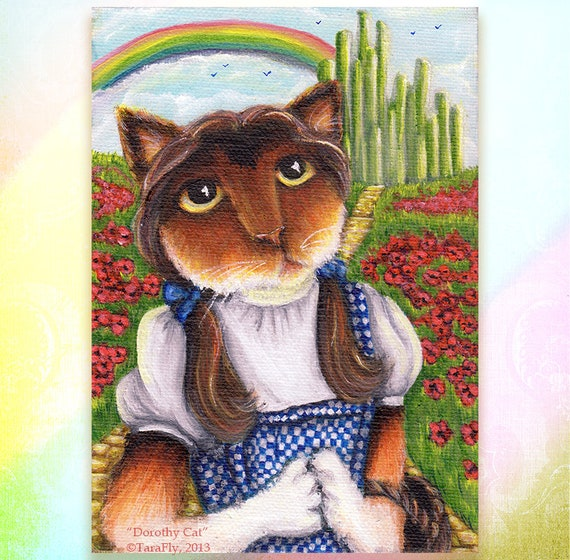 Dorothy Cat 8x10 Fine Art Print