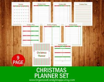 Christmas Planner Set - Instant Download PDF Printable