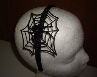 Funky Spider Web Headpiece,  Headband