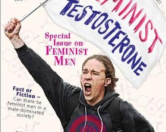 Fallopian Falafel Zine - Issue 15 on Feminist Men