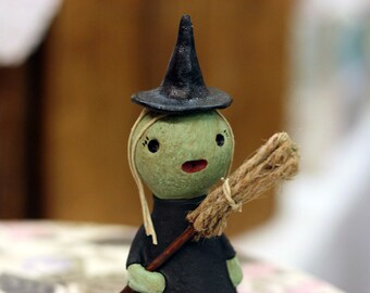 Classic Witch Figurine