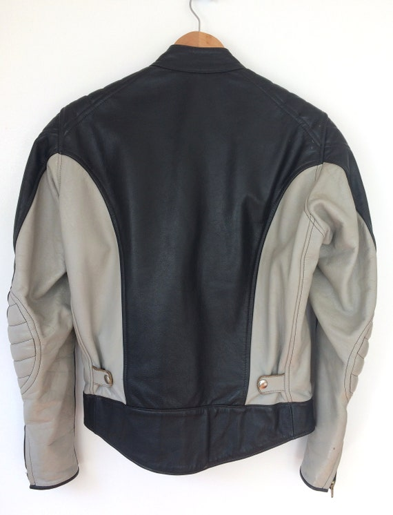 Stagg Jacket Leather Vintage Biker Motorcycle vHAnqa