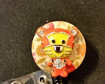 Tiger Badge Holder
