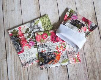 Paris reusable snack bags