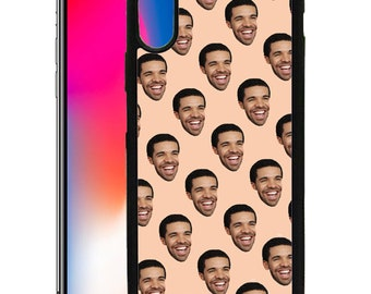 Drake Emoji Custom Print Case for iPhone 6 6s 7 8 Plus & X DR05