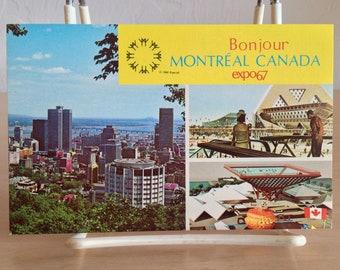 Expo '67 Postcard Canadian Pavilion