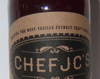 Chef JC's Madagascar Vanilla Extract 128oz (1 gal)