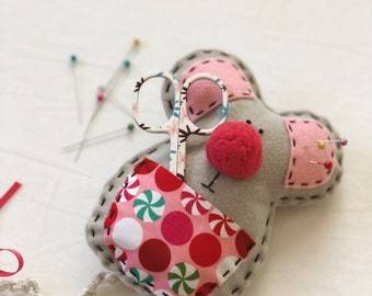 Ms. Mouse pincushion