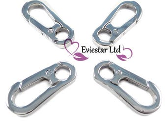 Clasps Lobster Swivel Trigger Clips Snap Hook 304 Stainless Steel, YOM7