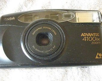 Kodak Advantix 4100 IX APS Point and Shoot Film Camera C2-1