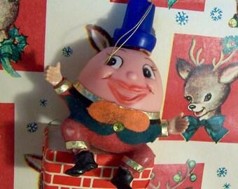 adorable humpty dumpty ornament
