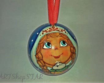 Christmas ball (Snow Maiden)