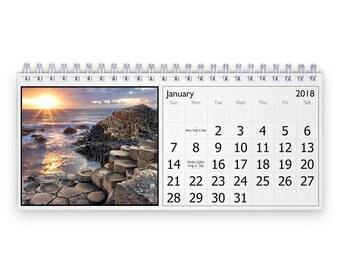 Ireland 2018 Desk Calendar
