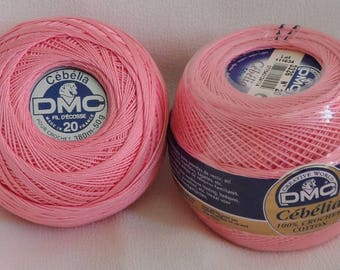 DMC Cebelia Crochet Cotton thread Pink, no.3326