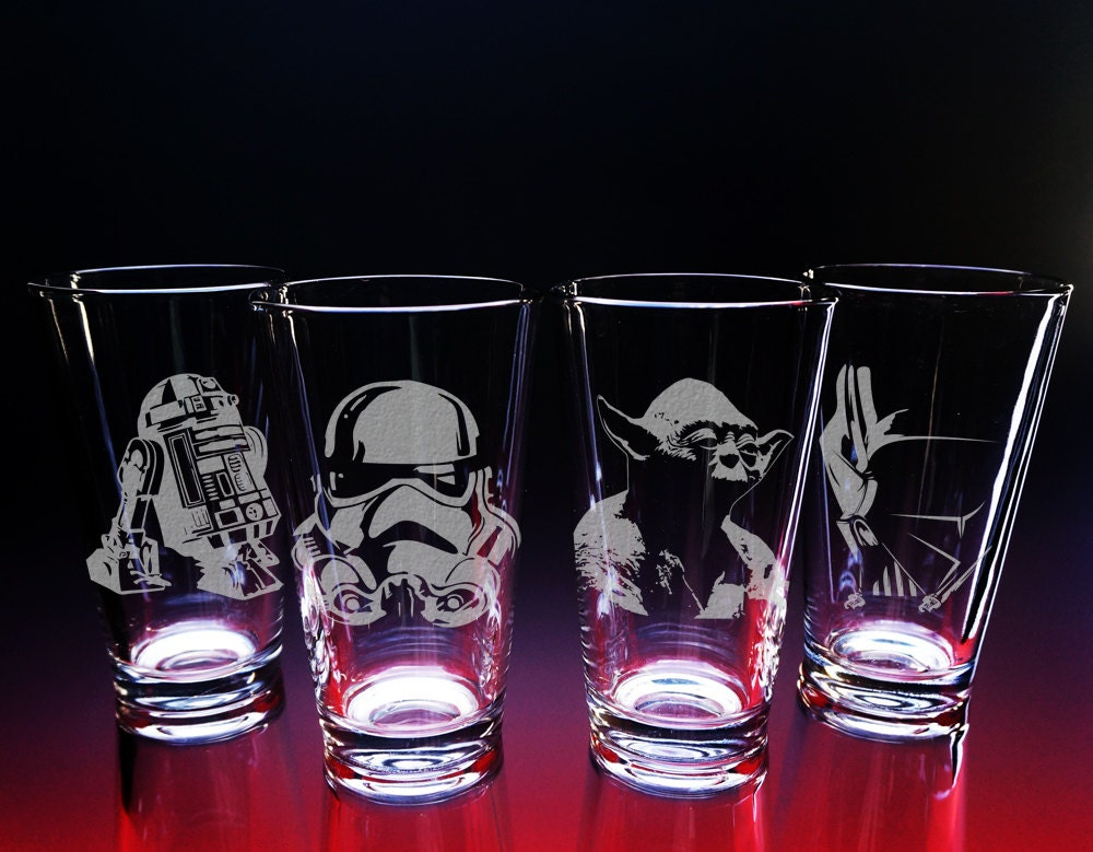 Star wars glasses star wars gift etched glass darth vader zoom solutioingenieria Images