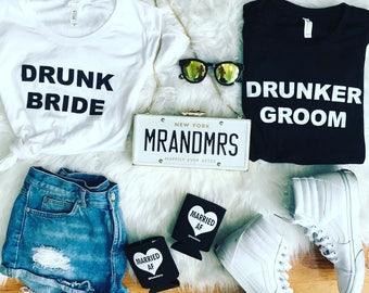 Drunk Bride - after wedding/bachelorette shirt