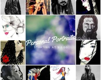 Custom/Personal Portraits