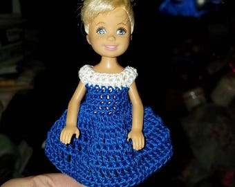Hand made Chelsea/Kelly Mattel Doll Clothes