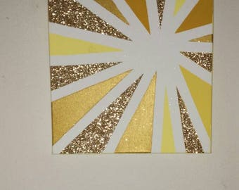 Rays of Gold Painting