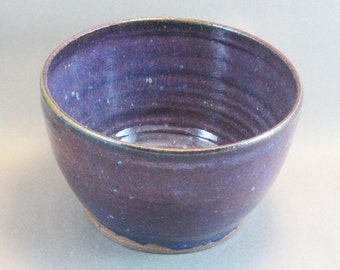 Pottery Medium Bowl Stellar Purple SP06