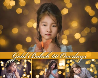 60 Gold Bokeh Photoshop Overlays Holiday Gold Bokeh Overlays Christmas Bokeh Overlays Gold Bokeh Photo Overlays Holiday Lights Overlays