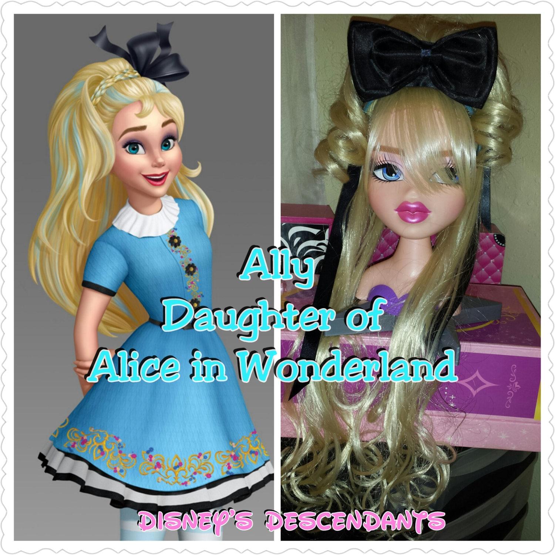 Aliado hija de Alicia en el país de las maravillas Pedazo