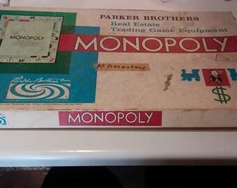 Monopoly game no. 9 1961