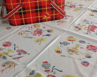 Barbecue tablecloth
