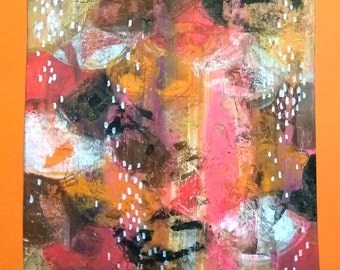 Missed - abstract - originale - abstract paint