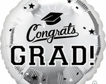 Congrats Grad Balloon/ Graduation Balloon/ Graduation Party Balloon/ Graduation Decor