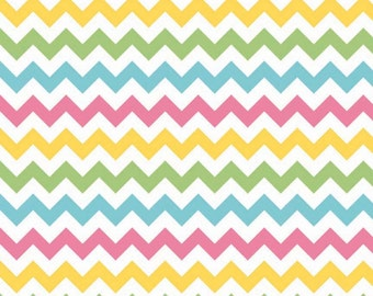 Girl Chevron Riley Blake Fabric Small