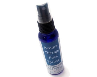 Spritzer - aromaTHERAPY Pack Spray - for microwavable hot / cold pads - natural essential oils