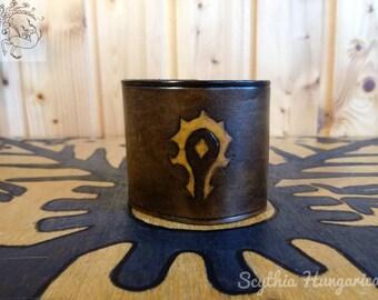 World of Warcraft mark of the Horde wristband