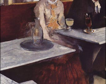 Poster, Many Sizes Available; L'Absinthe, 1876, Oil On Canvas, By Edgar Degas