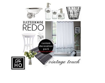 Interior Decorating Package: customized mood board, professional tips, shopping list. Any room in your home.